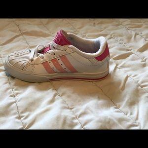 Adidas Neo Girls Shoes size 9